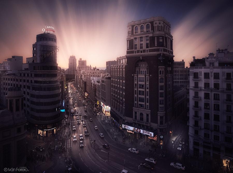 ¿Madrid o Gotham Ciy? de Iván Ferrero en 500px.com