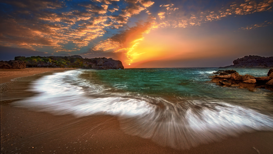 The beach .. by Nikos Kadimiris on 500px.com