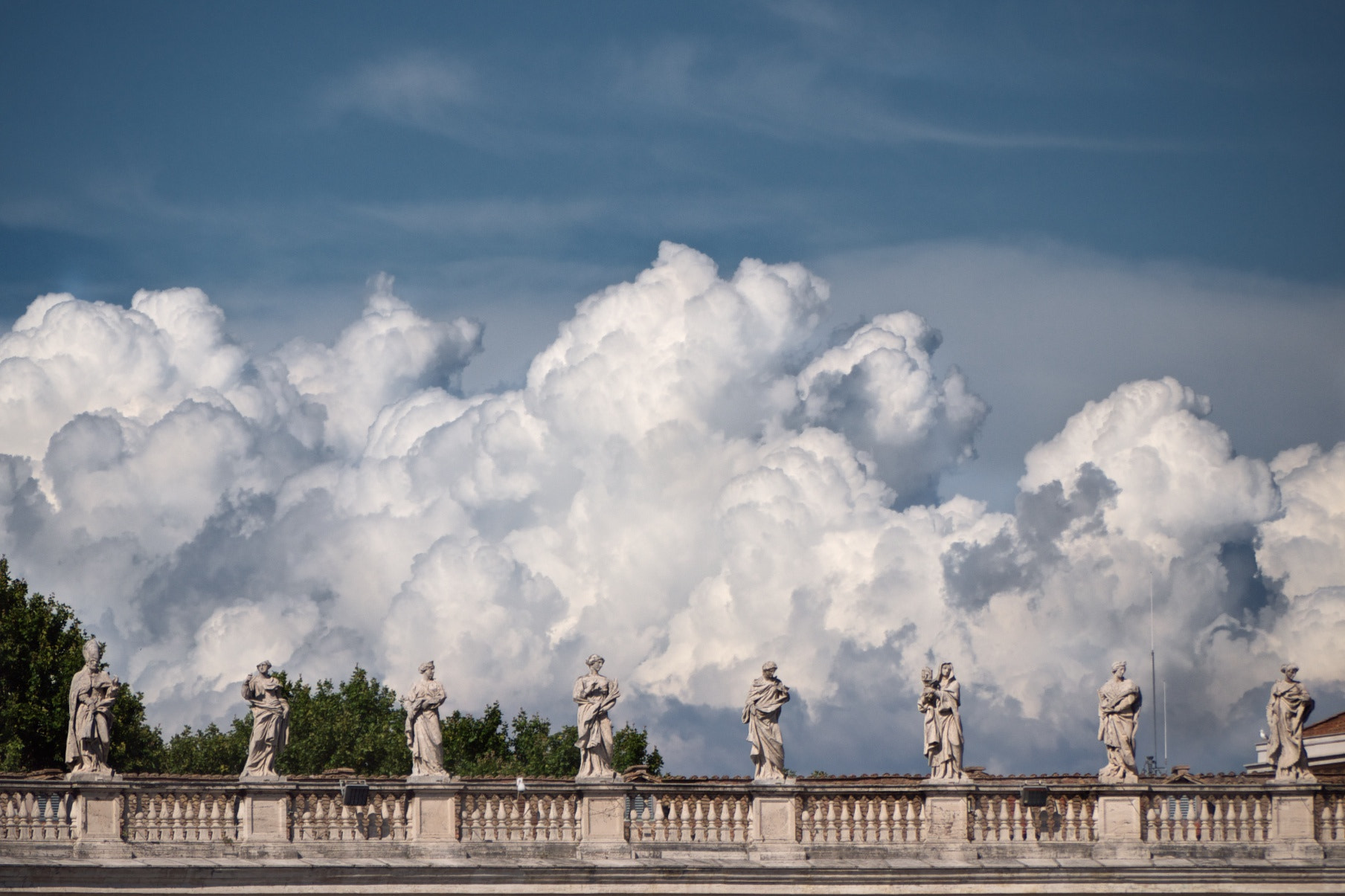 Photograph The Vatican and the Storm by Antony Blake on 500px