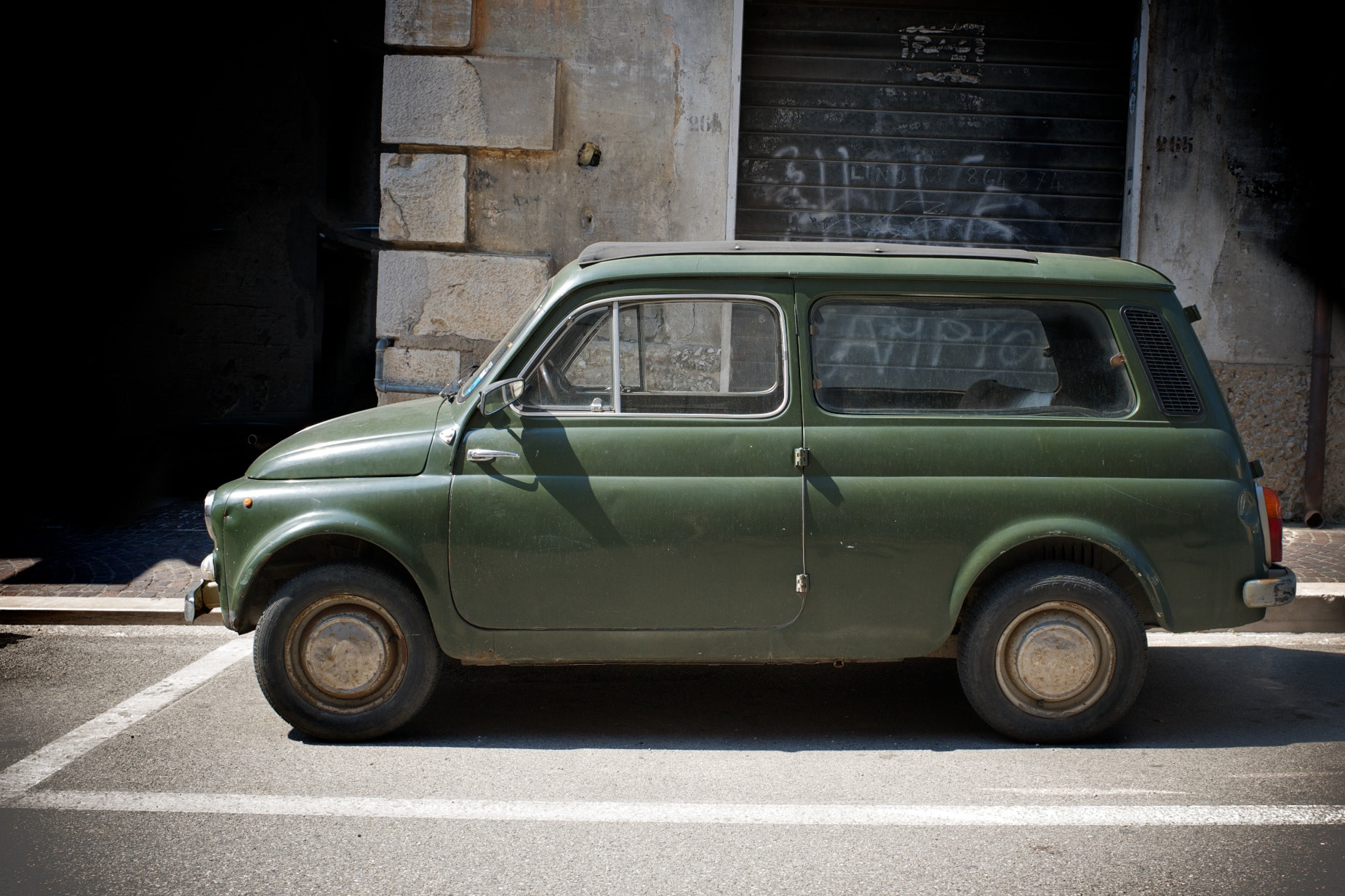 Photograph Fiat 500 Estate by Antony Blake on 500px