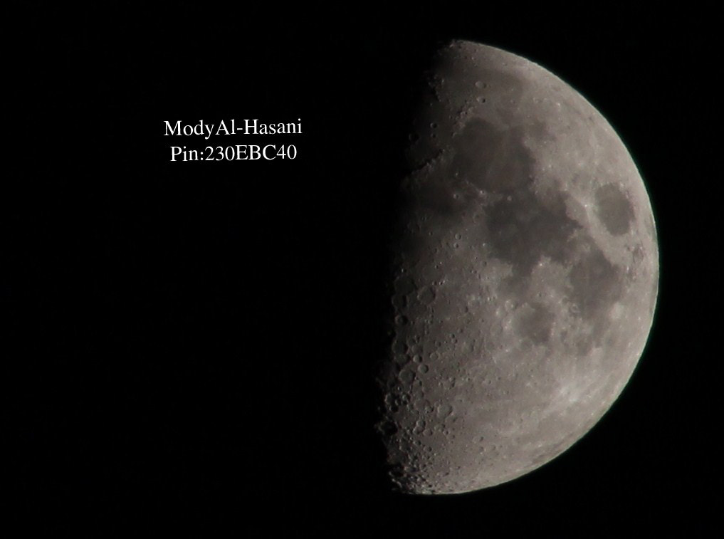 Photograph Moon by Mohammed Al-Hasani on 500px