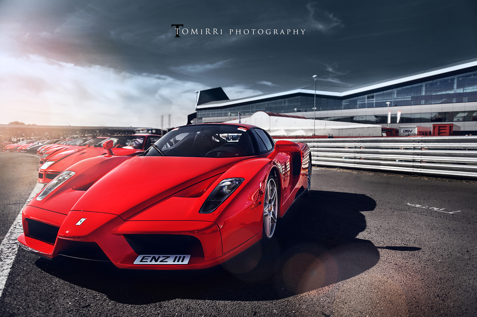 Photograph Ferrari Racing Days at Silverstone by TomirriPhotography  on 500px