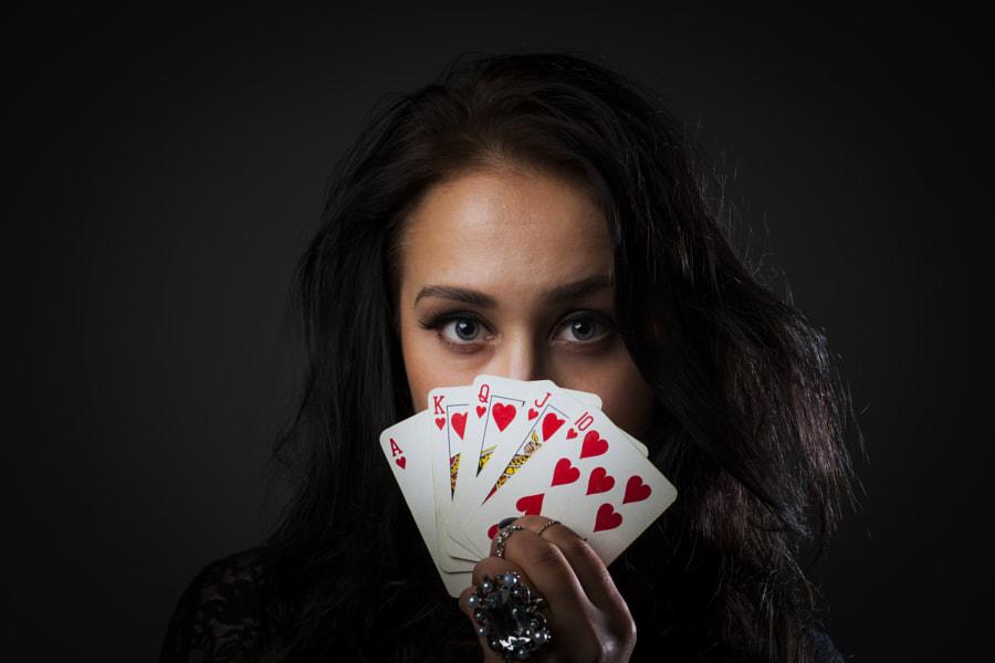Poker Lady by Lasse Ansaharju on 500px.com
