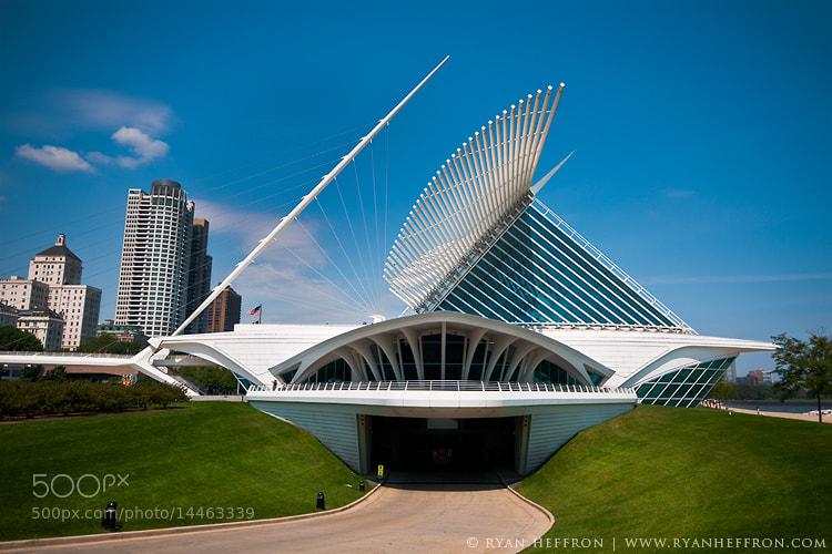 Photograph Milwaukee Art Museum by Ryan Heffron on 500px