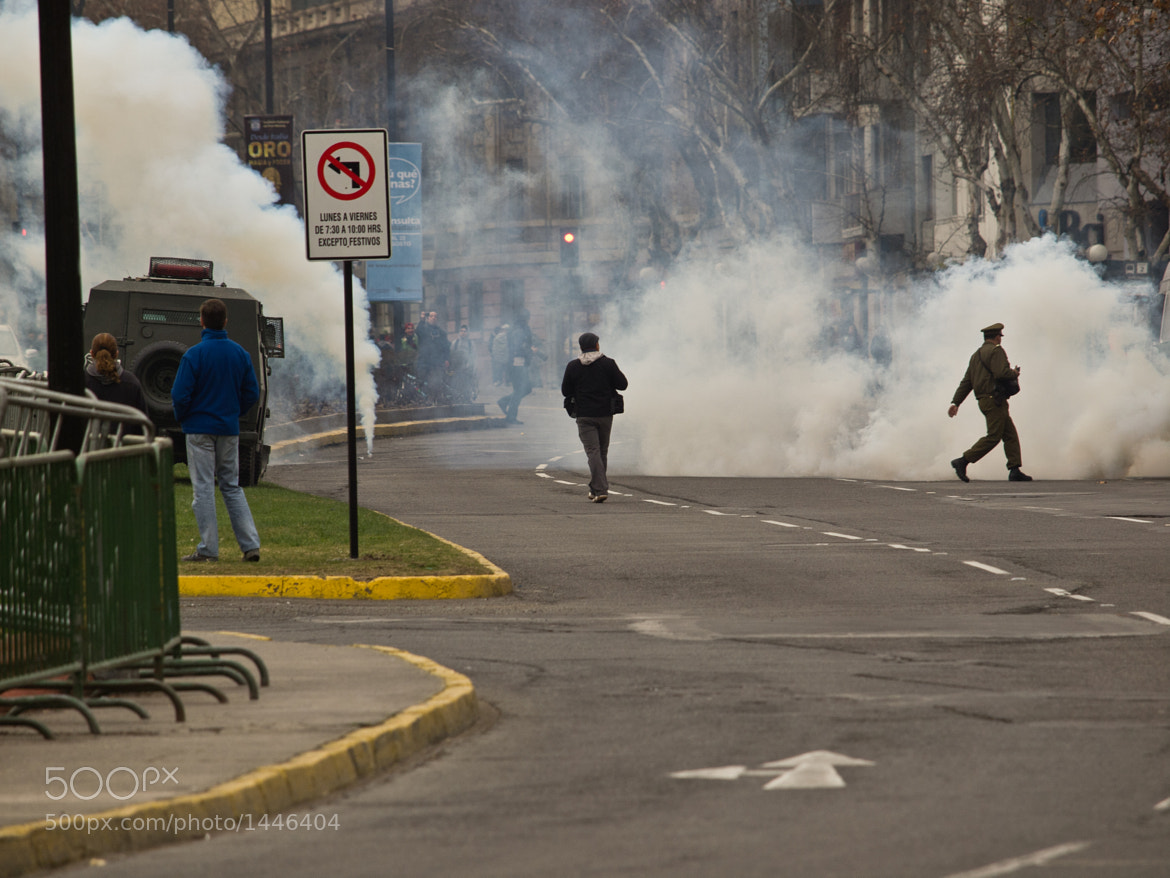 Photograph Tear gas by Christopher Cox on 500px