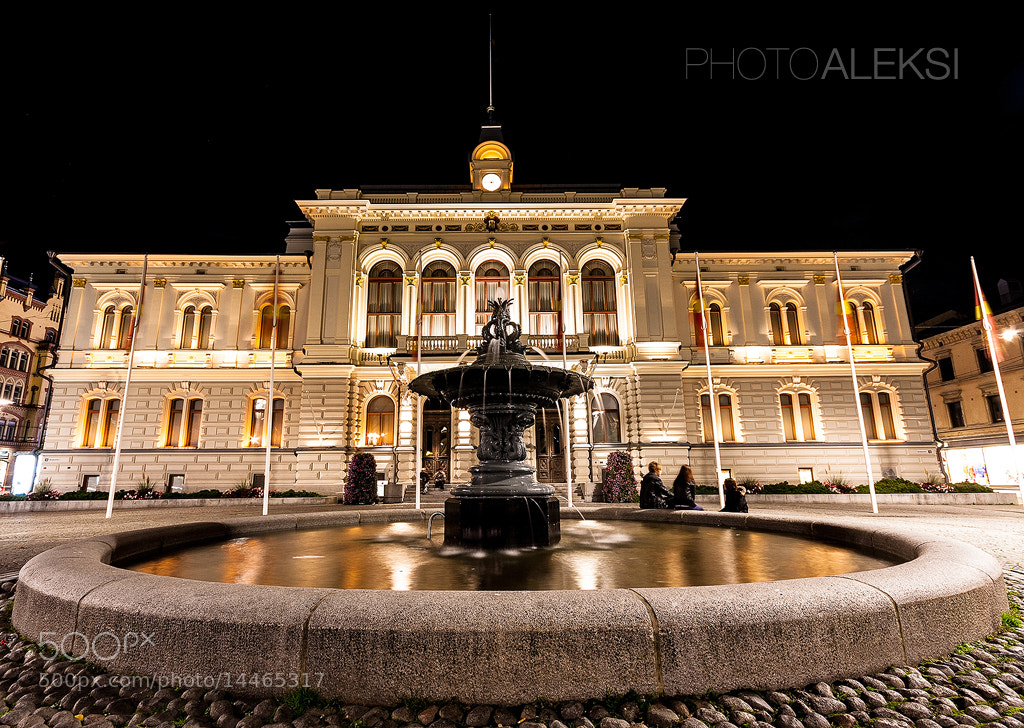 Photograph Tampere city hall by Aleksi Hämäläinen on 500px
