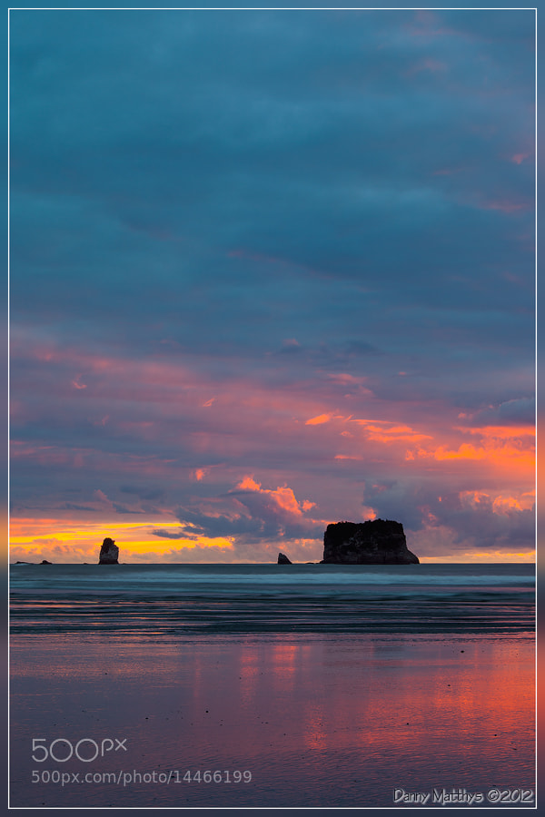 Photograph Sunset at Rapahoe Beach by Danny Matthys on 500px