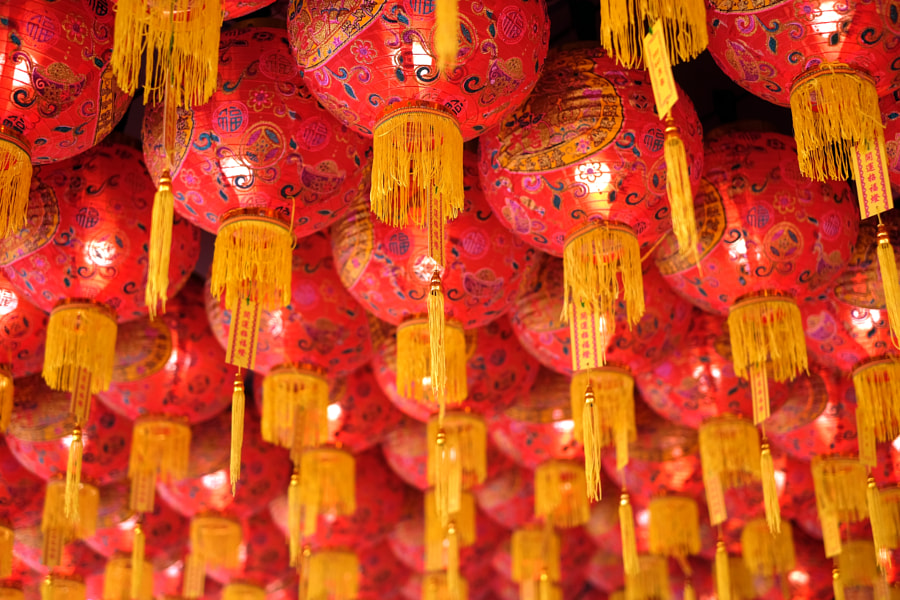 Lanterns in Georgetown by Sham Jolimie on 500px.com