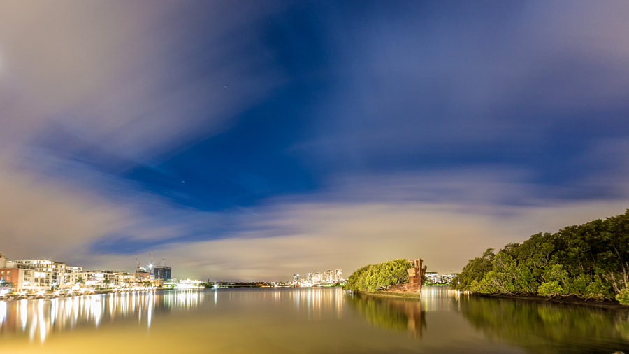 Wentworth Point Homebush Bay Sydney Australia by Travis Chau on 500px.com