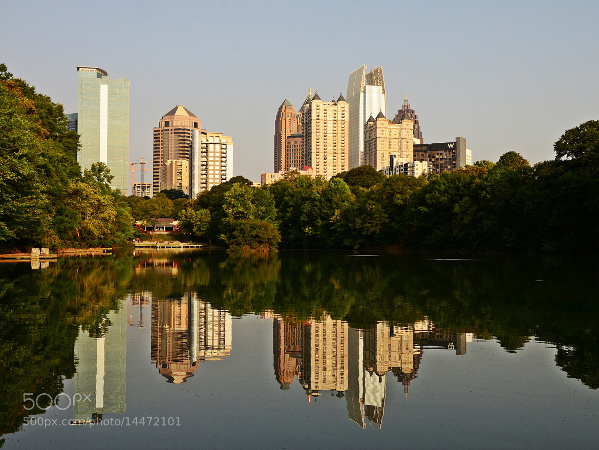 Photograph Atlanta in the lake. by Dina  Johnston on 500px