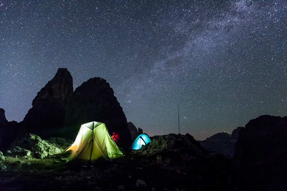 Photograph Night with the Stars... by Francesco Vaninetti on 500px
