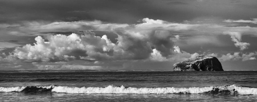 Bass Rock seascape