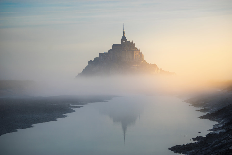 Mont Saint Michel by ?lhan Eroglu on 500px.com