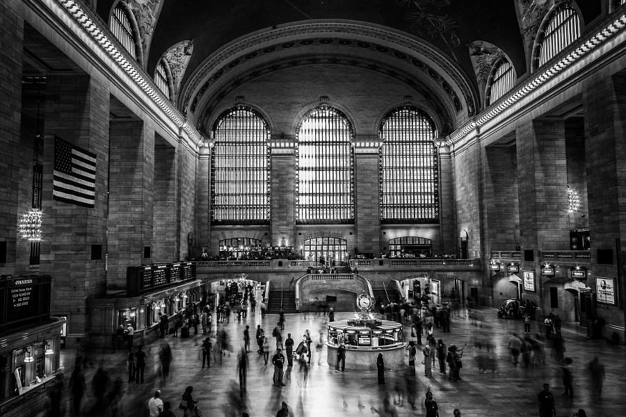 Grand Central Station, NY.
