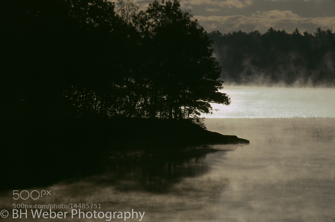 Photograph Stoneham lake mist by BH Weber on 500px
