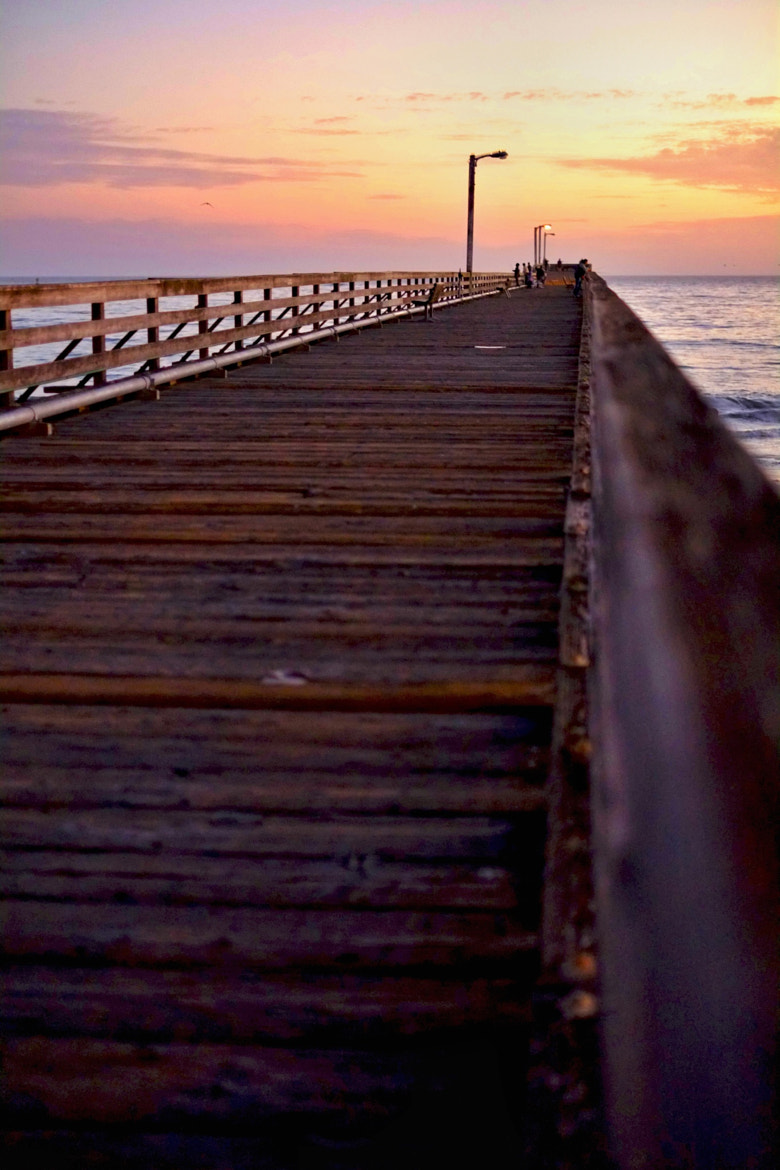 Photograph Sunset Pier by Ron Becker on 500px