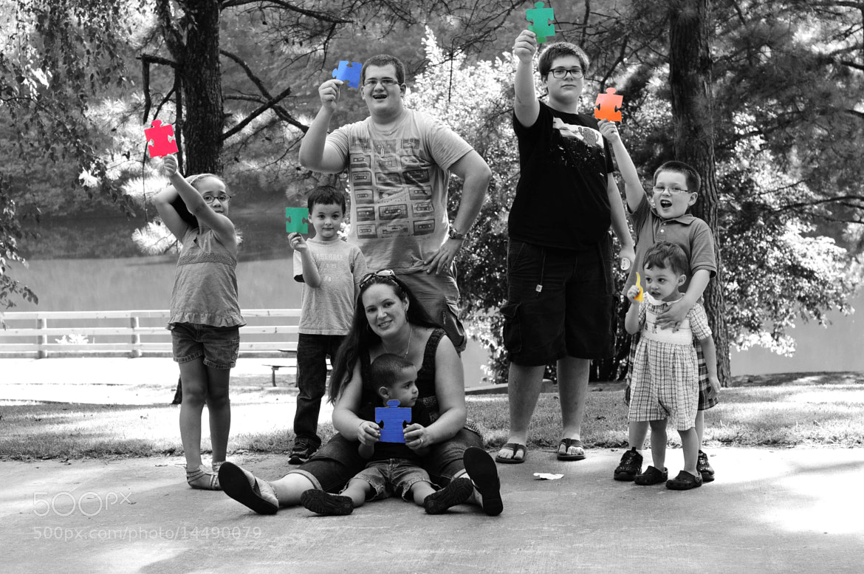 Photograph Autism Awareness  by Allison Davis on 500px