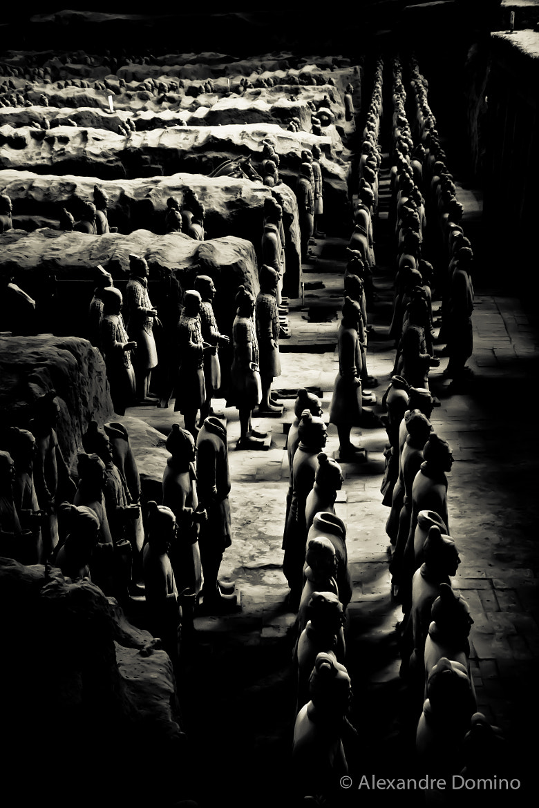 Photograph Pit 1 Terracota Army by Alex China on 500px