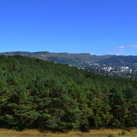 Kislovodsk beyond the pine forest