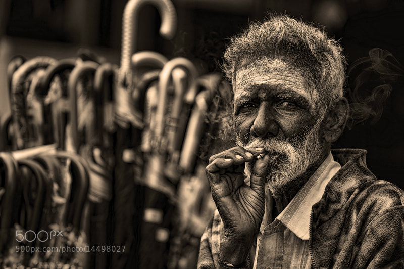 Photograph smoking a cigarette by Nasser  AlOthman on 500px