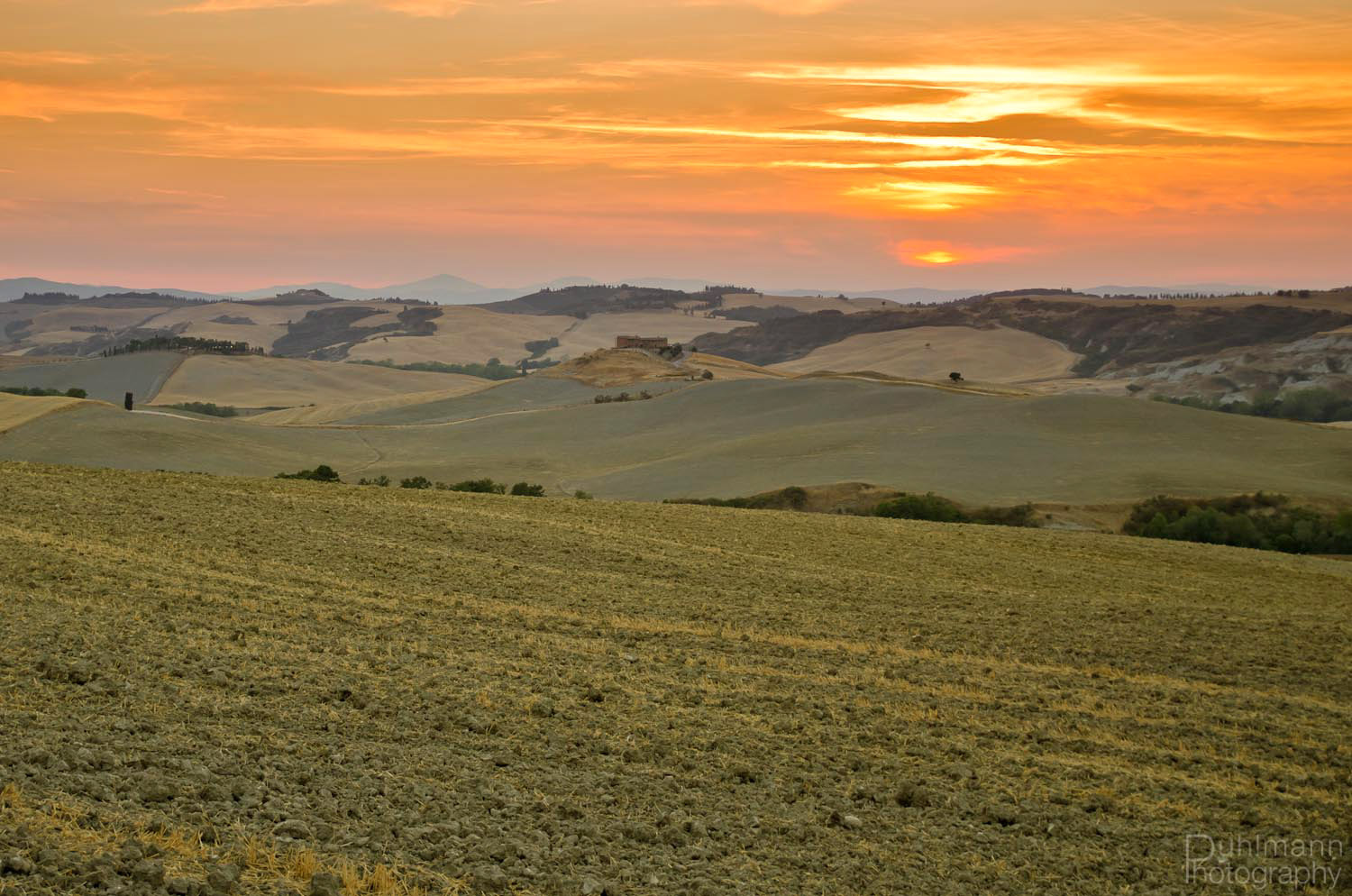 Photograph Sunset in Tuscany by Claus Puhlmann on 500px