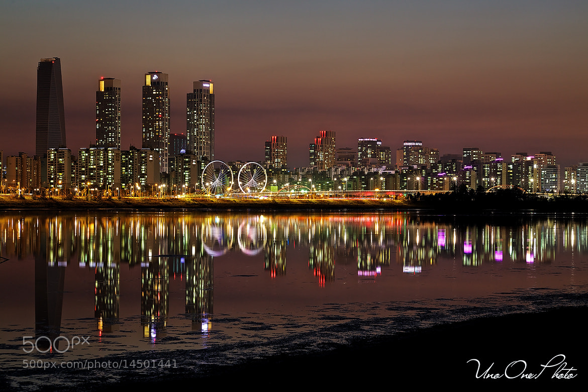 Photograph Barcode, Song Do Night View by G. Nom on 500px