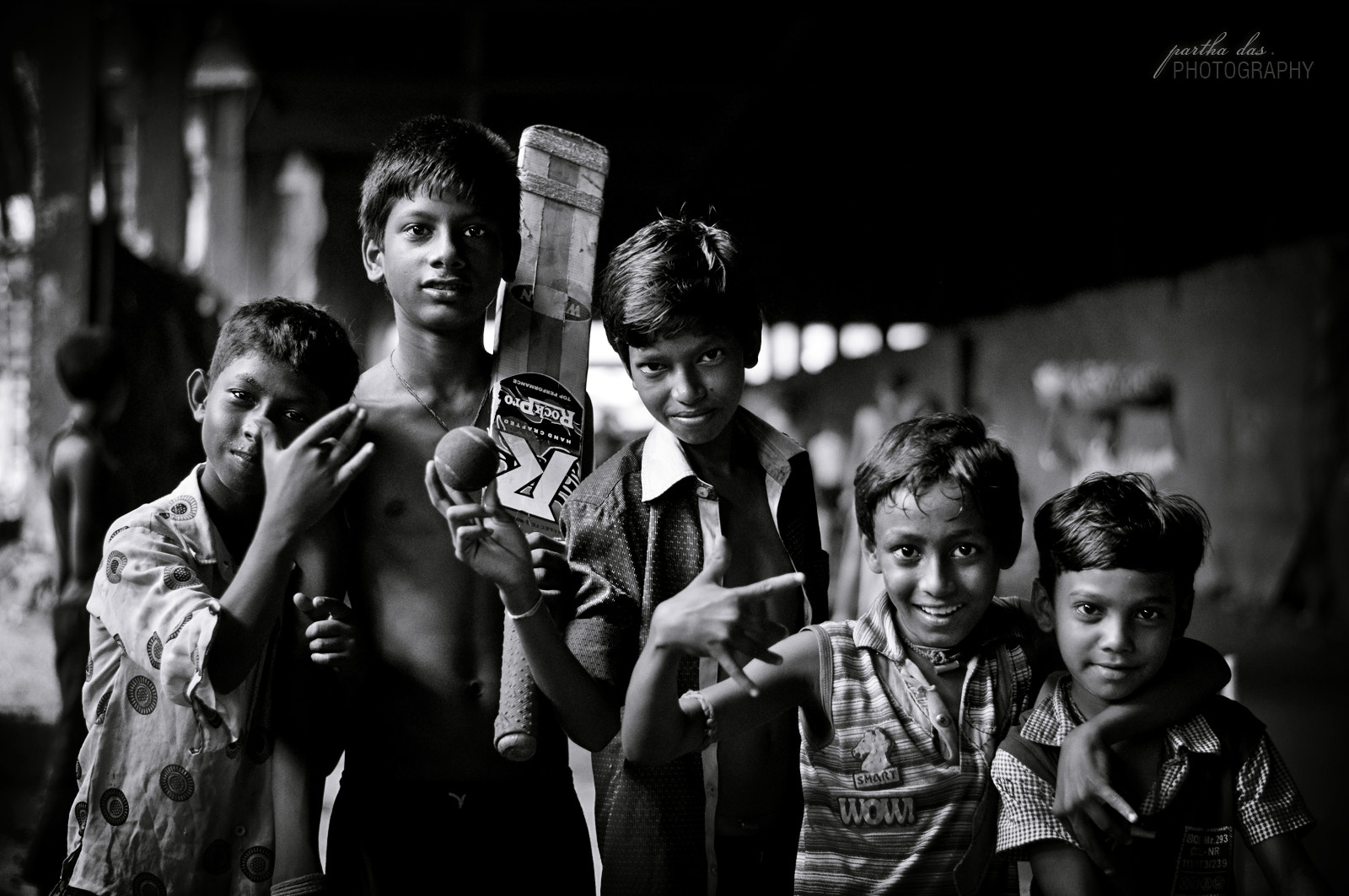 Photograph young street cricketers! by Partha Das on 500px