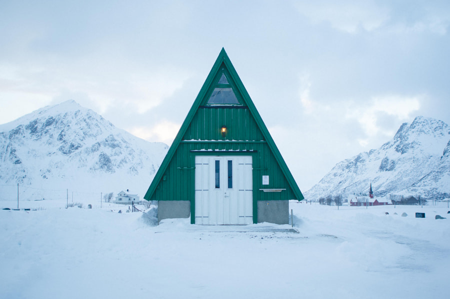 Flakstad Chruch by Emma Harper on 500px.com