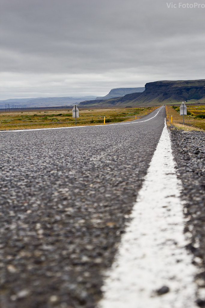 Photograph Iceland Road by VicFotoPro  on 500px