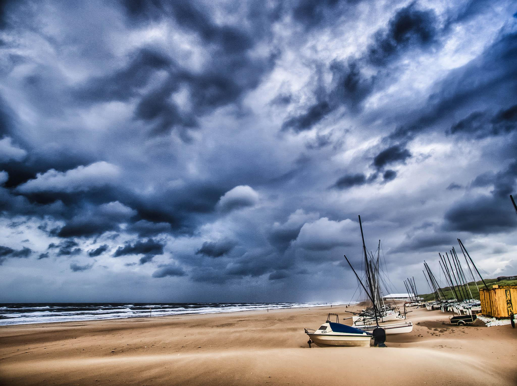 Photograph Dramatic storm by Hugh Jones on 500px
