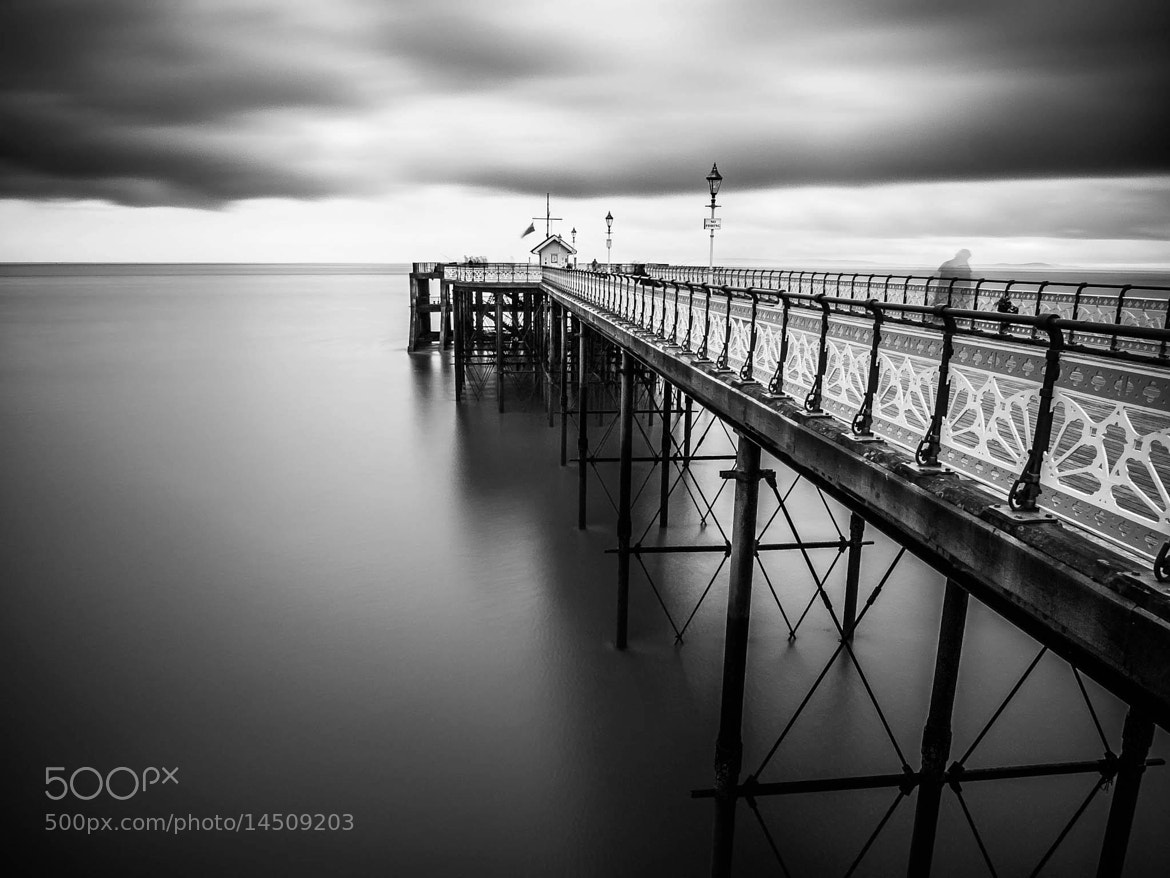 Photograph Ghost on the pier by Hugh Jones on 500px