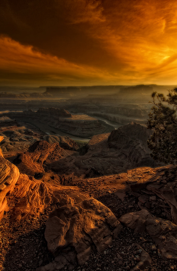 Photograph Atardecer en Dead Horse Point by Amador  on 500px