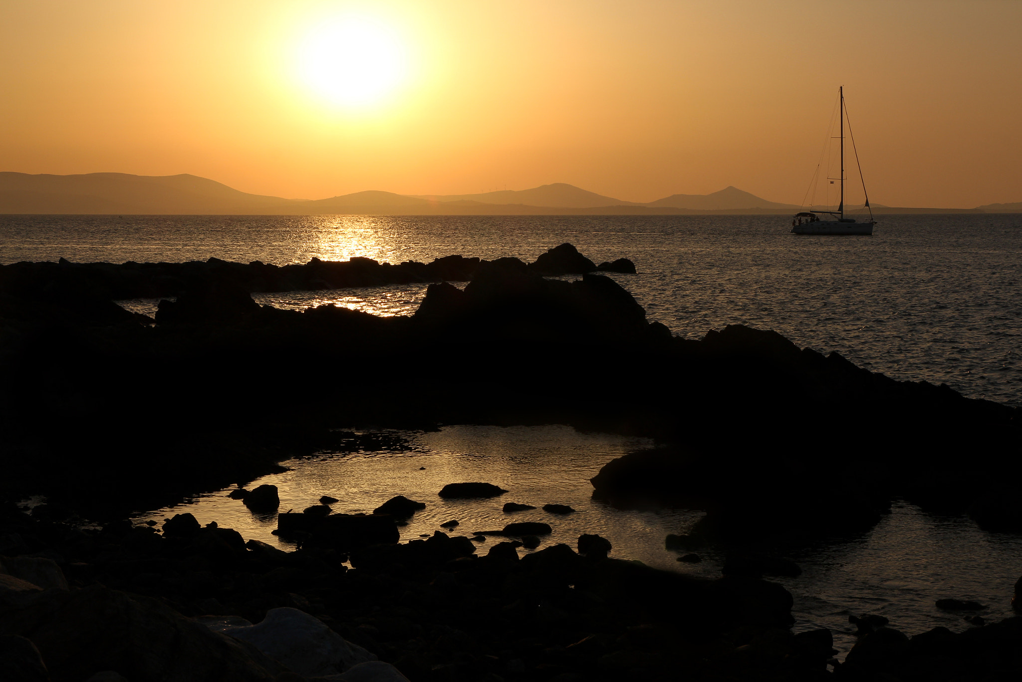 Photograph Naxos island sunset by Victor castillo on 500px