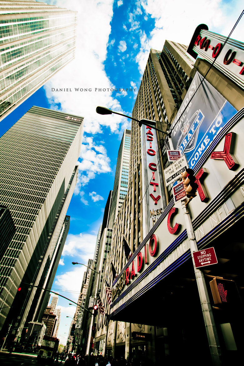 Photograph Radio City Music Hall by Daniel Wong on 500px