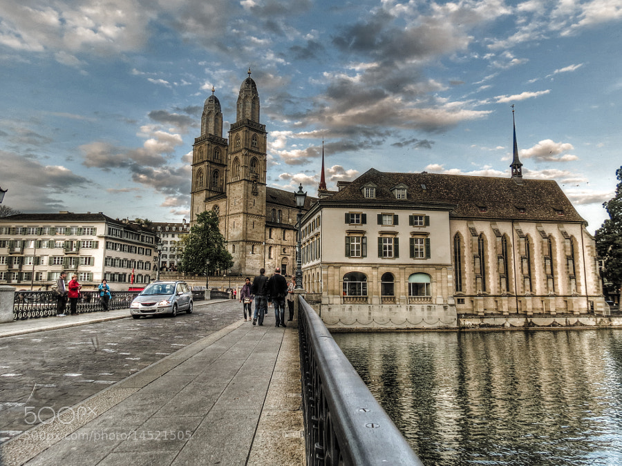Photograph My  own  view  on Zurich by Mark Kats on 500px