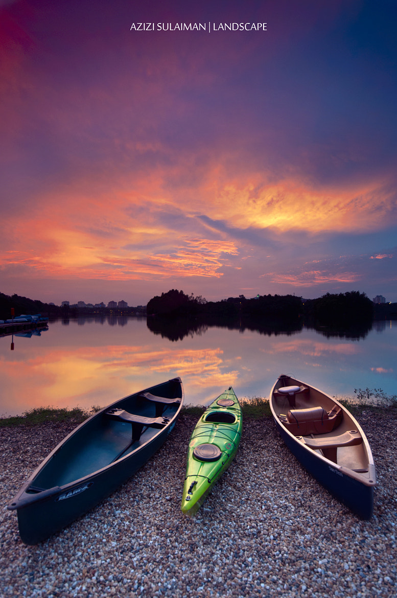 Photograph BOATS by Azizi Sulaiman on 500px