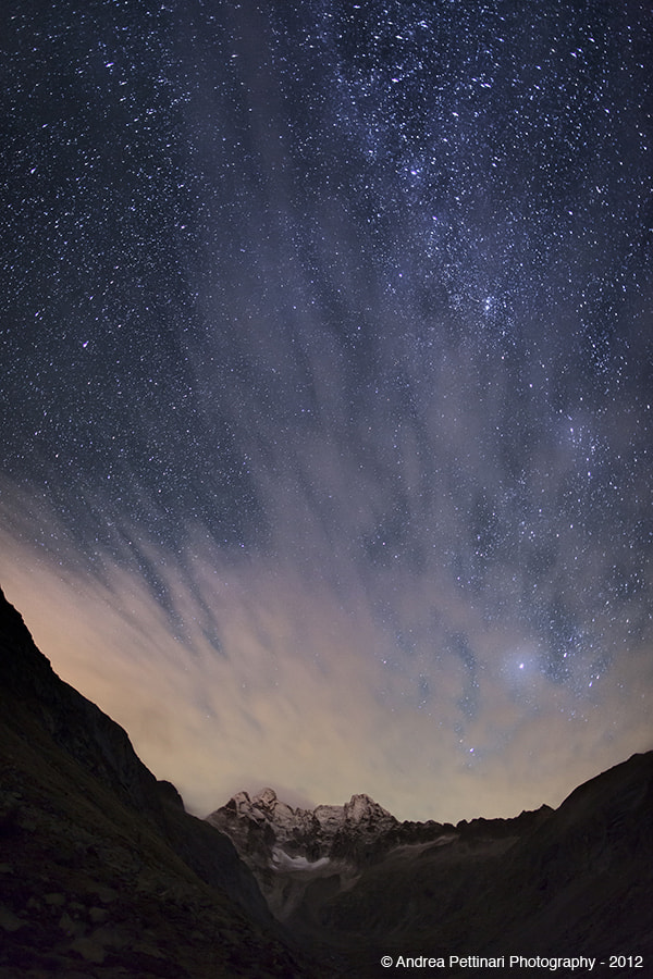 Photograph Under the stars by Andrea Pettinari on 500px