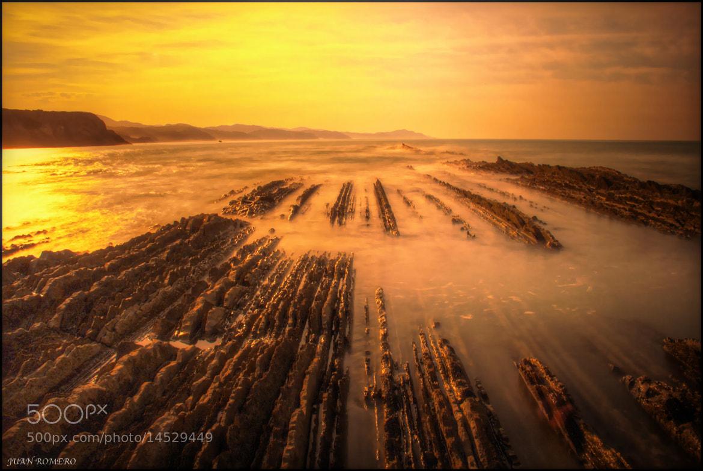 Photograph Flysch ( Zumaia )- Guipuzcua - by JUAN  ROMERO on 500px