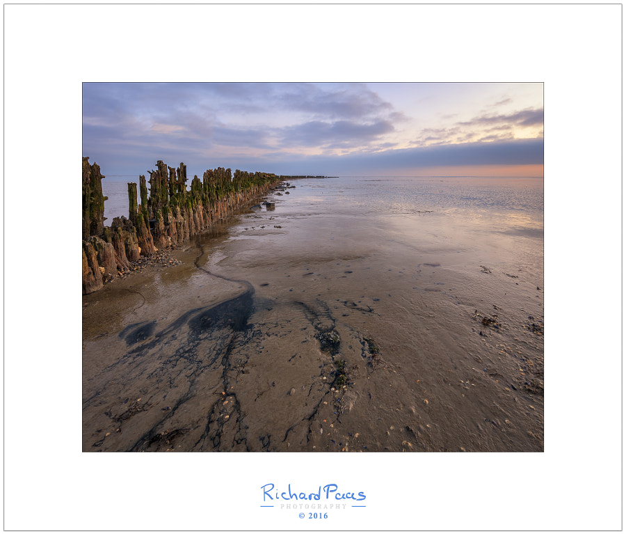 Sunrise Wierum low tide 3 by Richard Paas on 500px.com