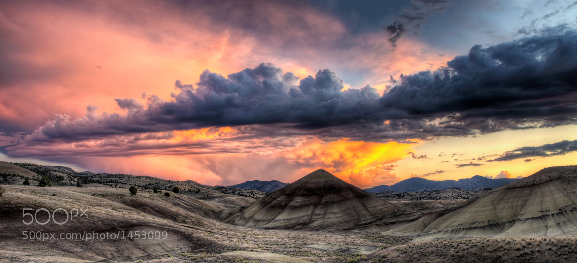 Photograph Painted Hills in Central Oregon at Sunset by David Gn on 500px