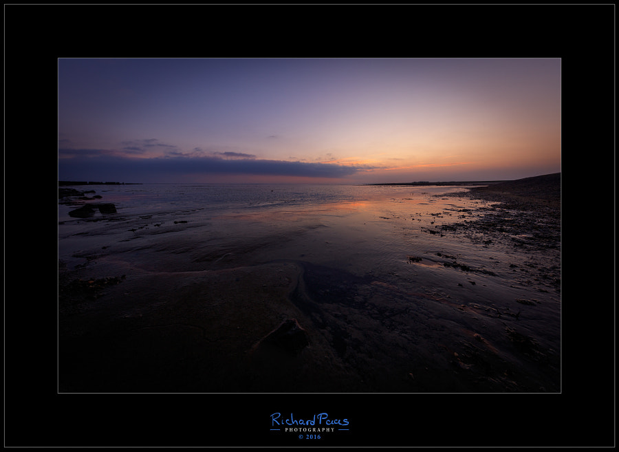 Sunrise Wierum low tide 4 by Richard Paas on 500px.com