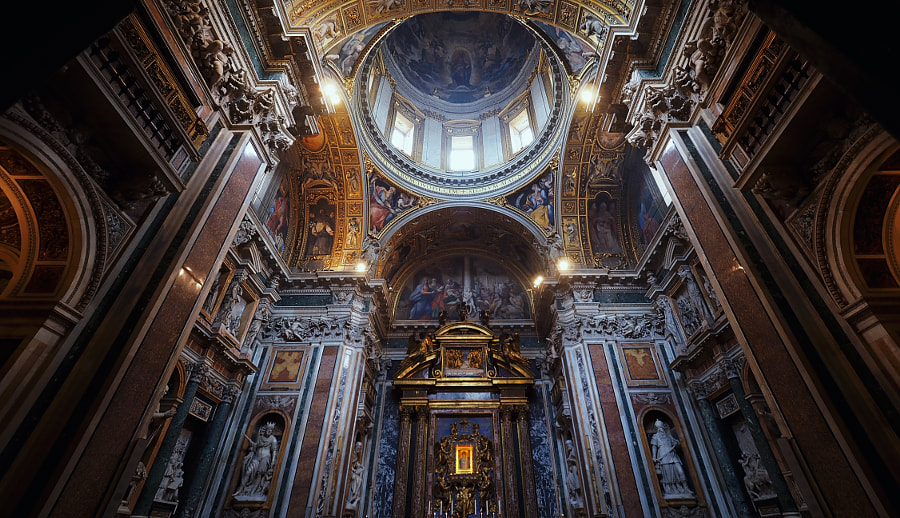 Basilica di Santa Maria Maggiore by Sean Archer on 500px.com
