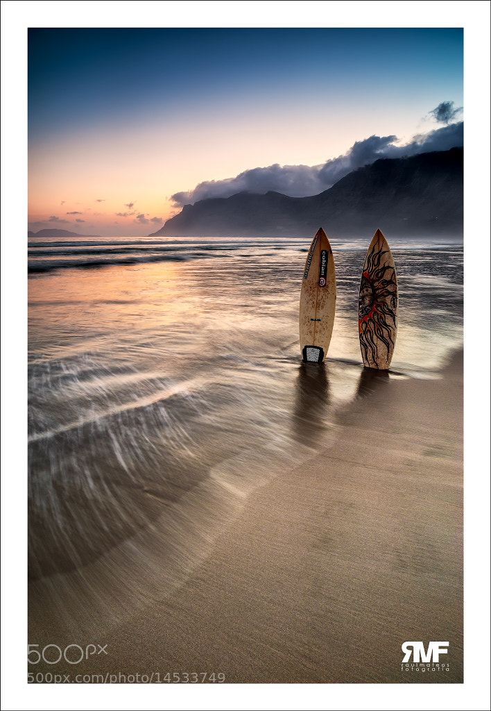 Photograph Surfing morning by Raúl Mateos on 500px