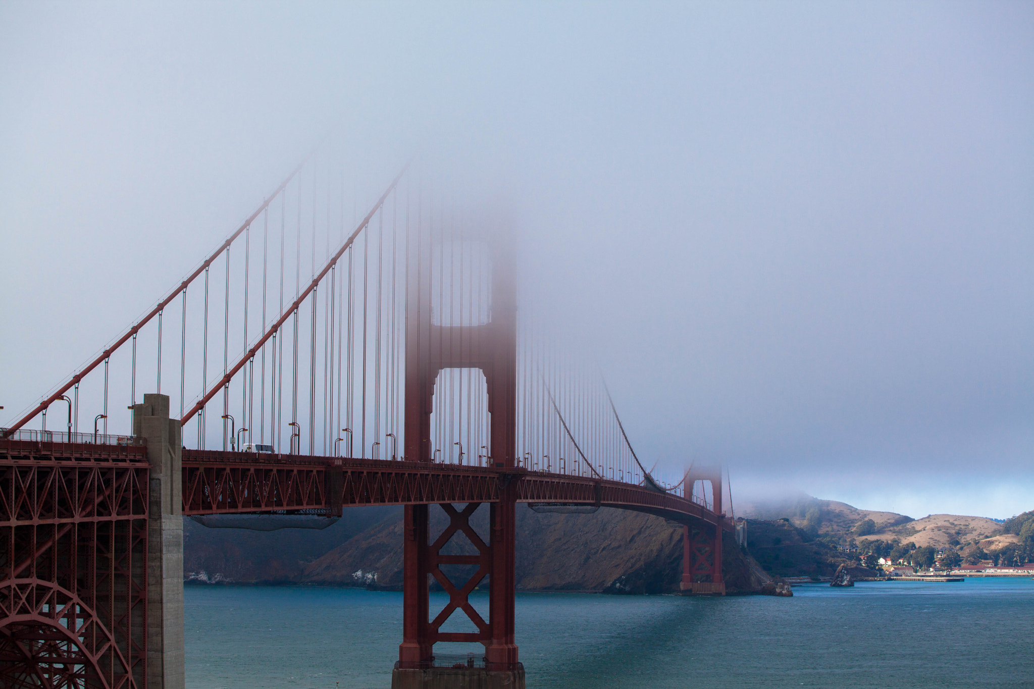 Photograph Golden Gate, SF by Diego Peralta on 500px
