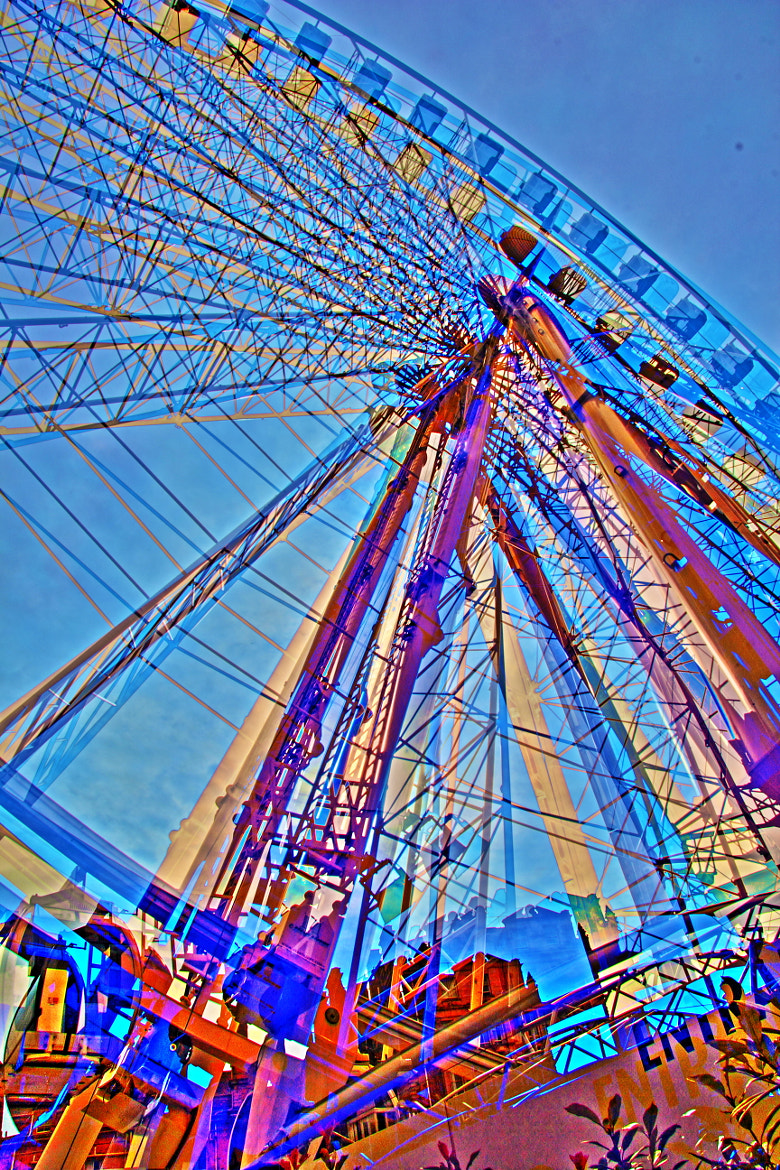 Photograph The York Wheel by Neil Anderson on 500px