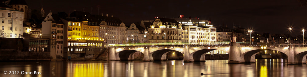 Photograph After dark at the Rhine by Onno Bos on 500px