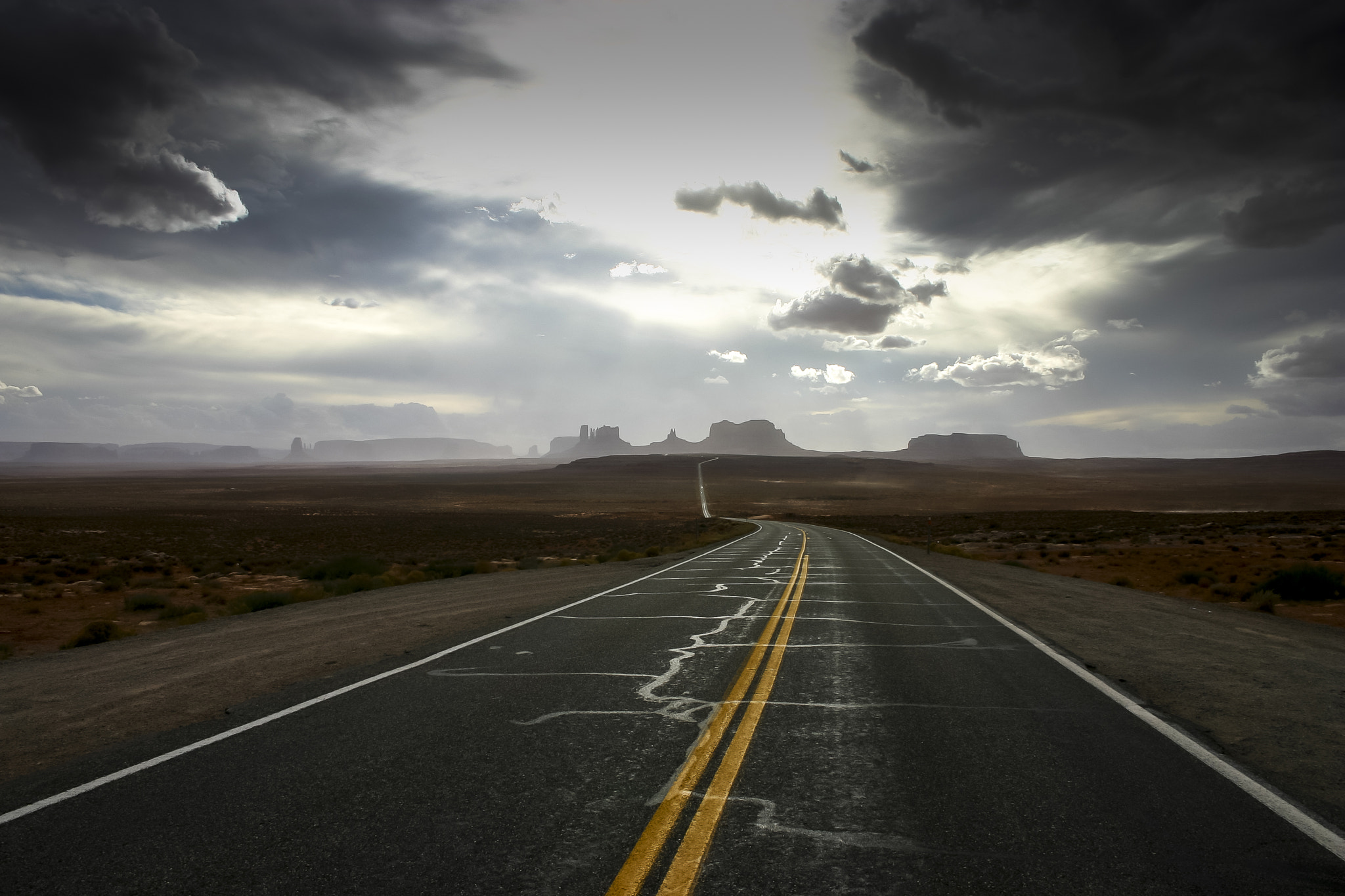 Photograph Early morning en route to Monument Valley by Nigel Jarvis on 500px