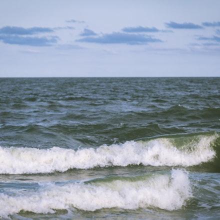 Green sea...