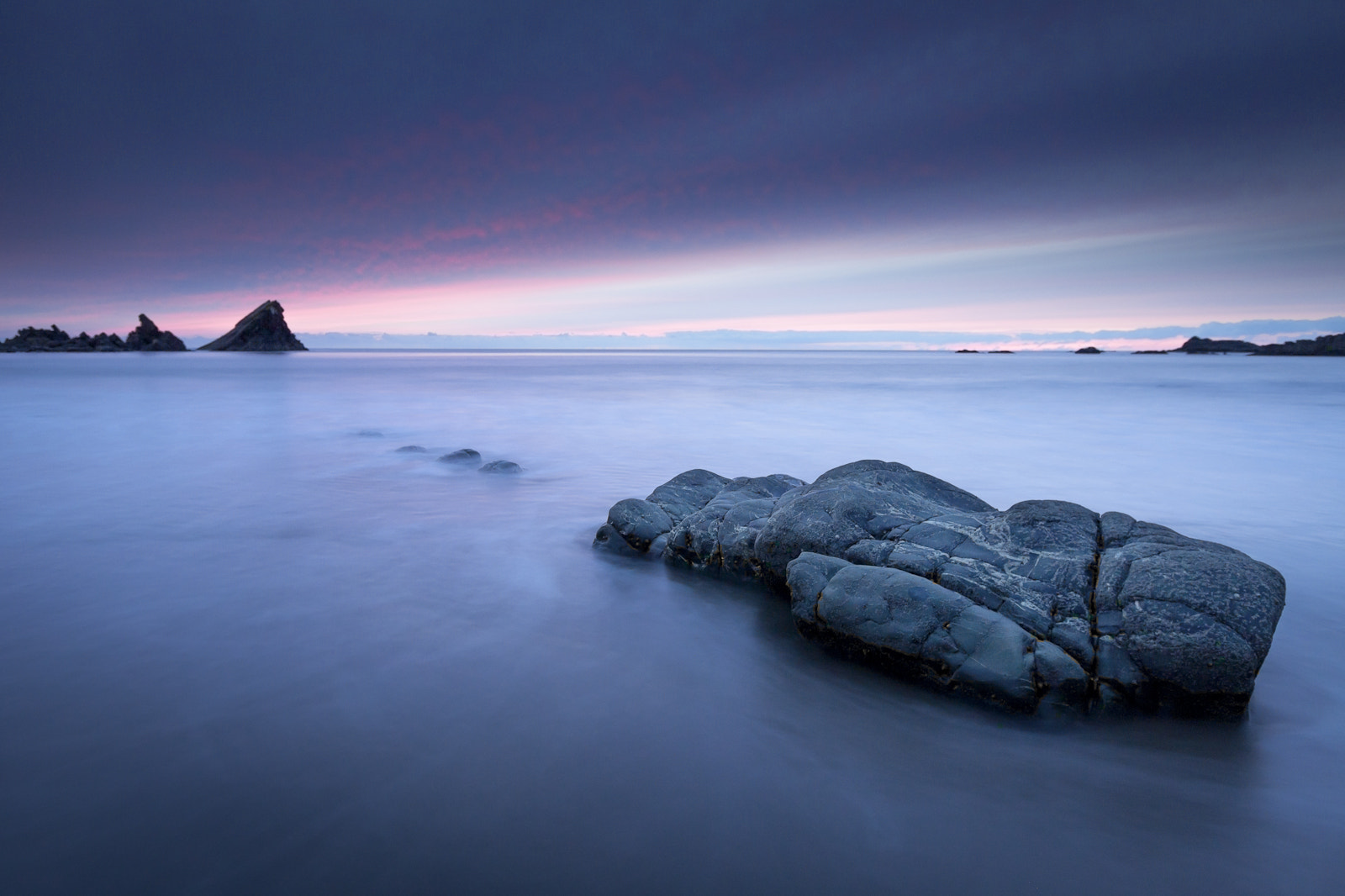 Photograph Hartland Quay last light by Terry Gibbins on 500px