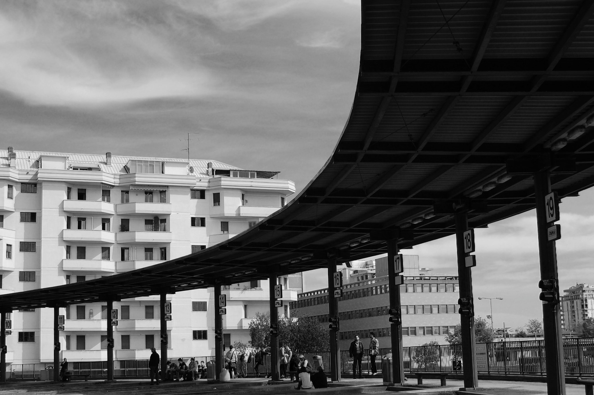 Photograph Bus Station by Fabio Foggetti on 500px